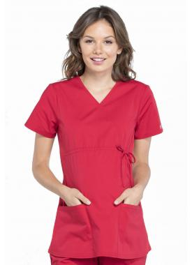 WW685  Топ женский Cherokee Professionals Maternity RED