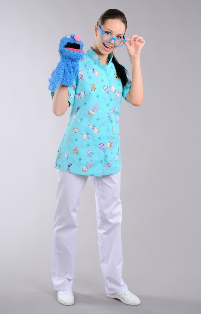 Медицинская одежда для педиатров